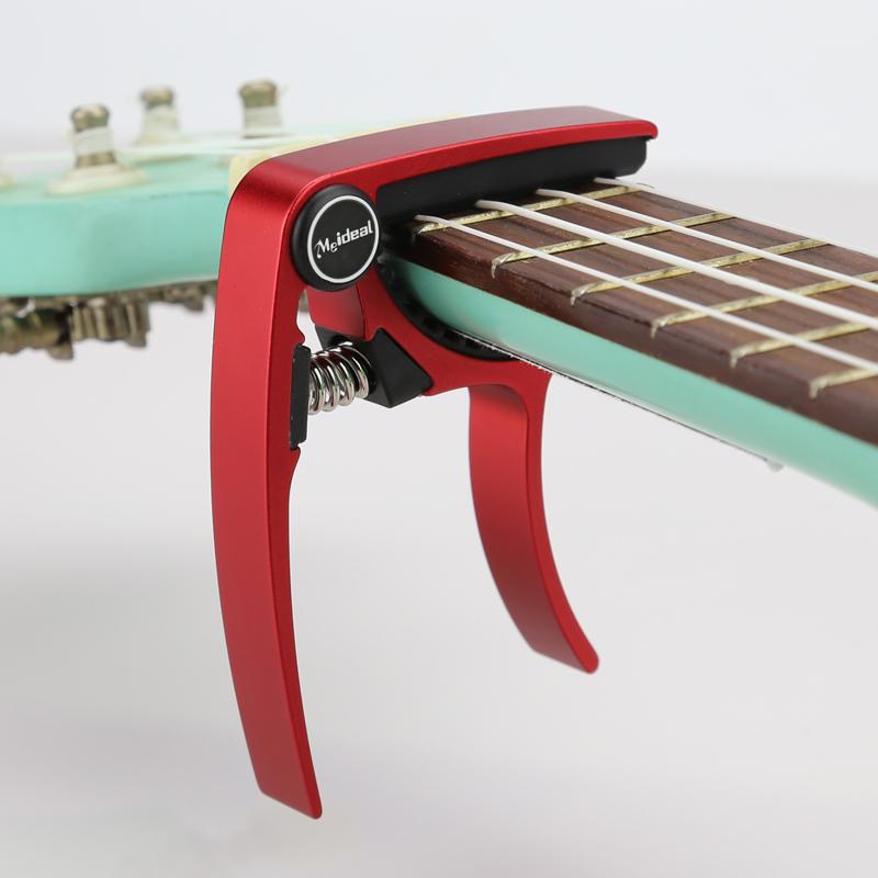 Meideal-Aluminum-Alloy-Ukulele-Capo-Designed-for-4-Strings-Ukulele-Exquisit-O8X9 thumbnail 3