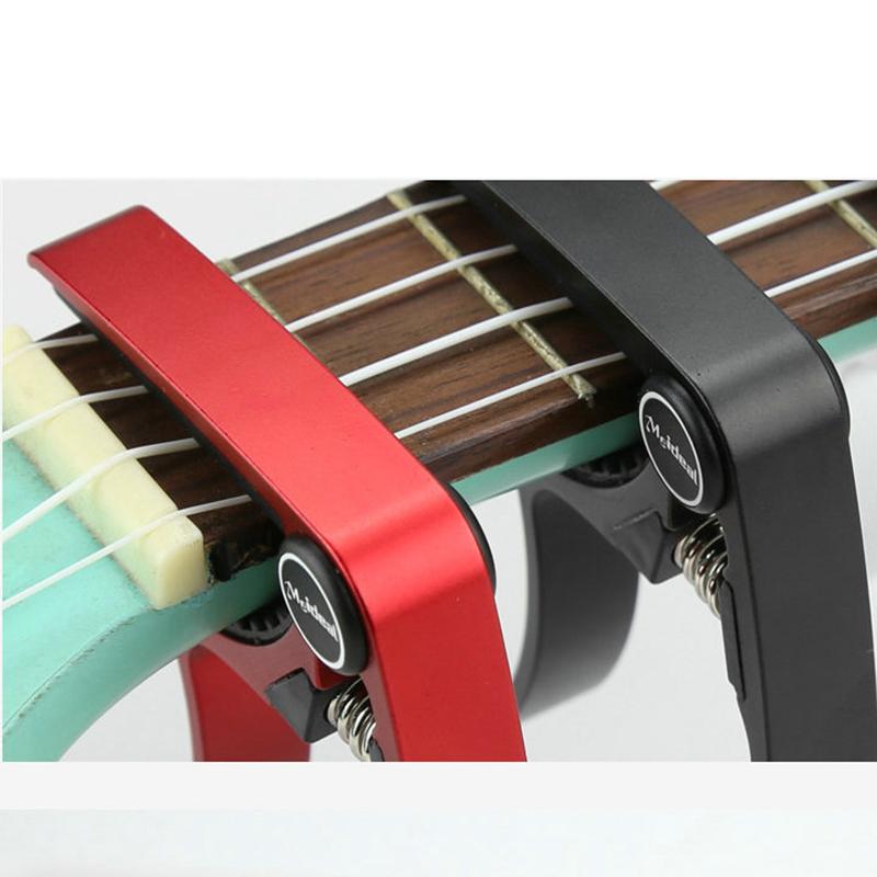 Meideal-Aluminum-Alloy-Ukulele-Capo-Designed-for-4-Strings-Ukulele-Exquisit-O8X9 thumbnail 4