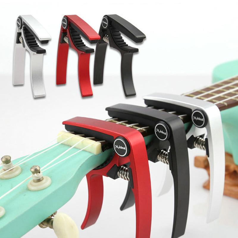 Meideal-Aluminum-Alloy-Ukulele-Capo-Designed-for-4-Strings-Ukulele-Exquisit-O8X9 thumbnail 6