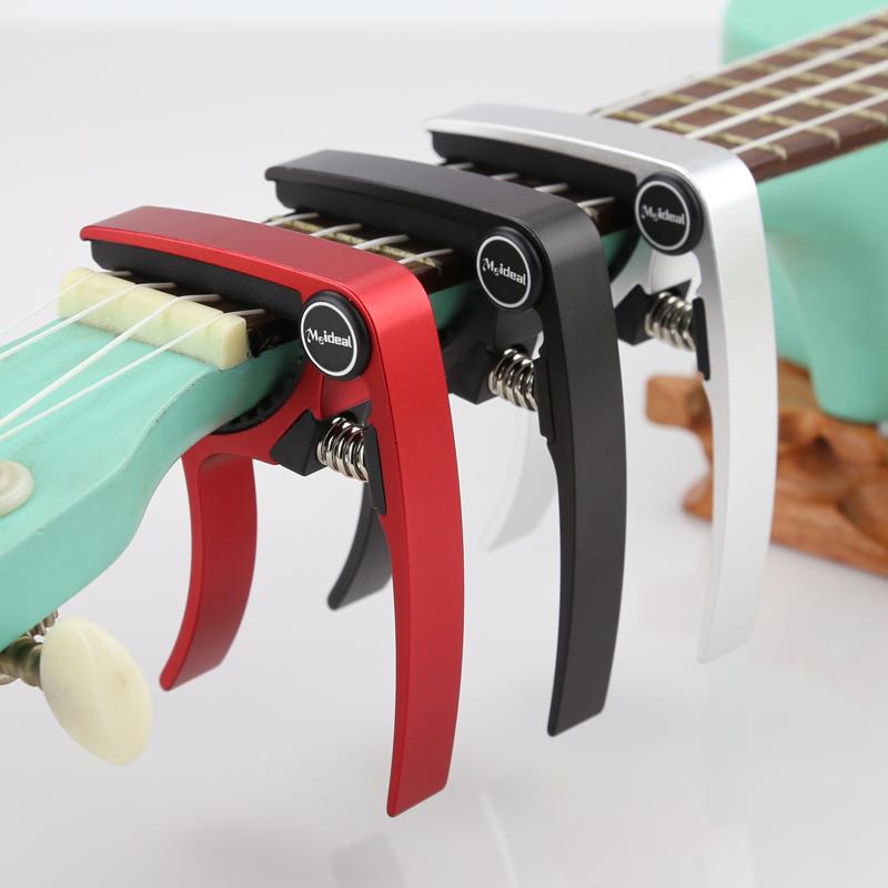 Meideal-Aluminum-Alloy-Ukulele-Capo-Designed-for-4-Strings-Ukulele-Exquisit-O8X9 thumbnail 7