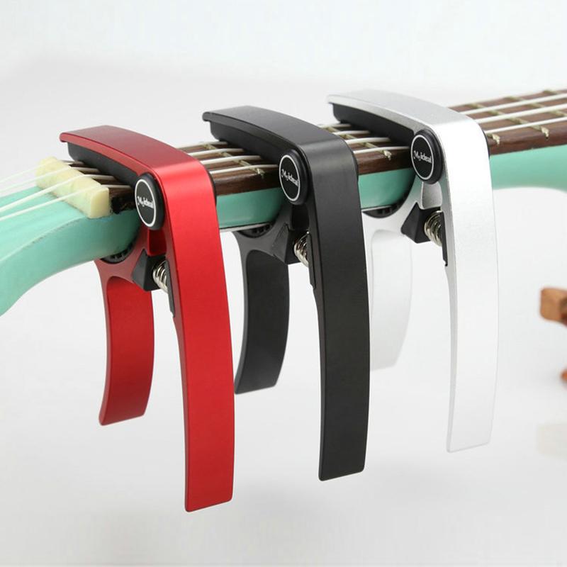 Meideal-Aluminum-Alloy-Ukulele-Capo-Designed-for-4-Strings-Ukulele-Exquisit-O8X9 thumbnail 14