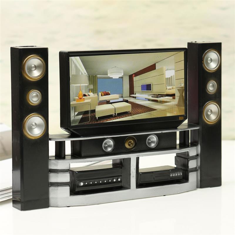 Hi-Fi Television TV Doll Furniture Doll House Furniture I8Q2