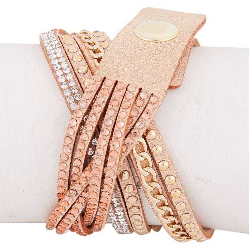 2X-CCQ-Montre-complete-de-marque-de-luxe-de-mode-Montres-a-quartz-tressee-dQ4A7 miniature 25