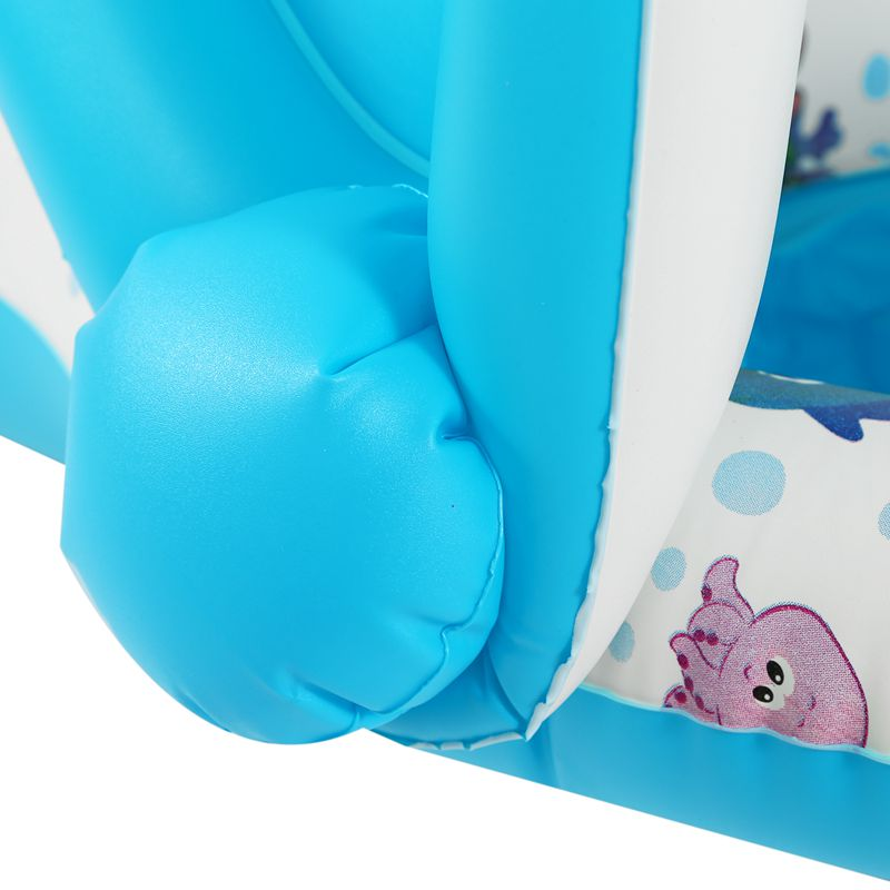 Safe-Soft-Inflatable-Mother-amp-Baby-Swim-Float-Ring-Kids-Seat-Double-Person-Sw-H7V7 miniature 28