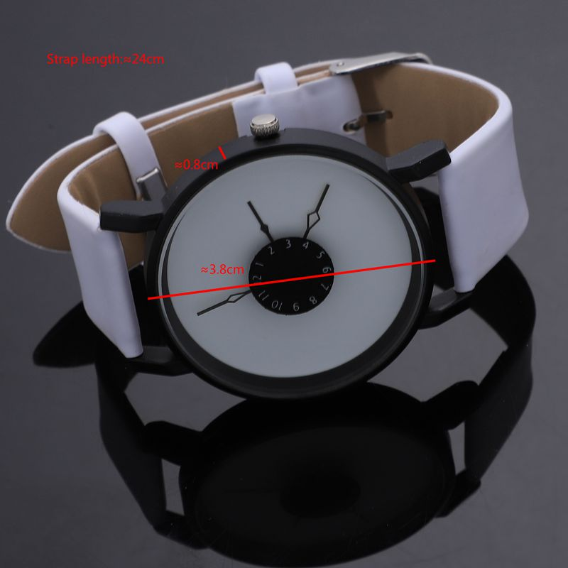 Vansvar-Quarz-Armbanduhren-Uhr-Frauen-Mode-Luxus-Kreativ-Uhren-Leder-O5T8 Indexbild 3
