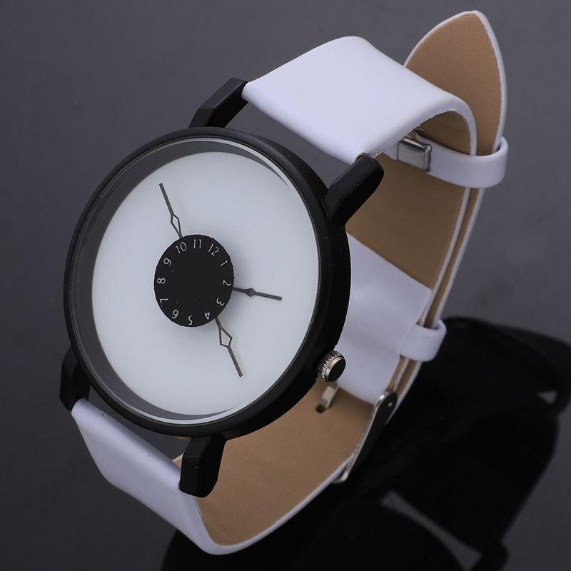 Vansvar-Quarz-Armbanduhren-Uhr-Frauen-Mode-Luxus-Kreativ-Uhren-Leder-O5T8 Indexbild 4