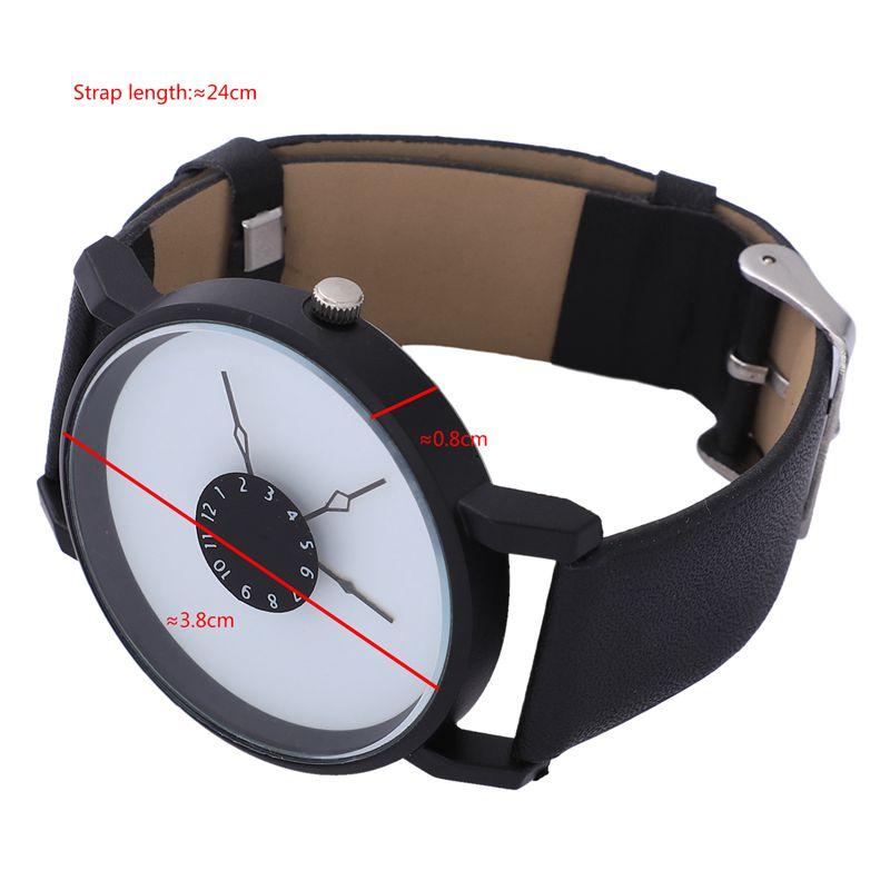 Vansvar-Quarz-Armbanduhren-Uhr-Frauen-Mode-Luxus-Kreativ-Uhren-Leder-O5T8 Indexbild 11