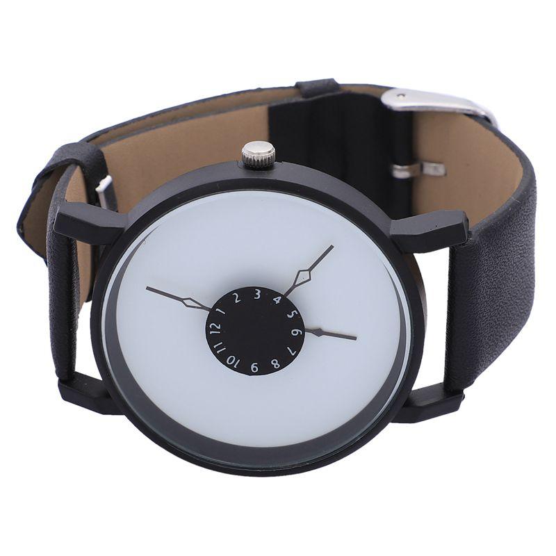 Vansvar-Quarz-Armbanduhren-Uhr-Frauen-Mode-Luxus-Kreativ-Uhren-Leder-O5T8 Indexbild 13
