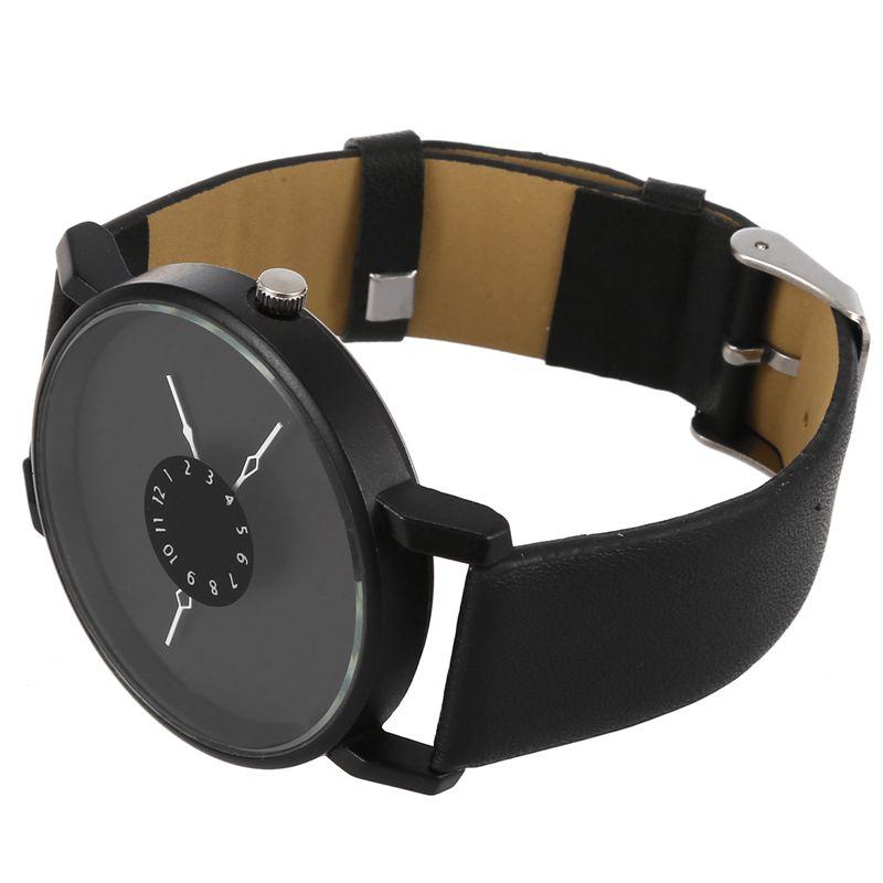 Vansvar-Quarz-Armbanduhren-Uhr-Frauen-Mode-Luxus-Kreativ-Uhren-Leder-O5T8 Indexbild 23