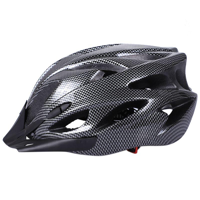 1X Carbon Bicycle Helmet Bike MTB Cycling Adult Adjustable Unisex Safety H B7G2