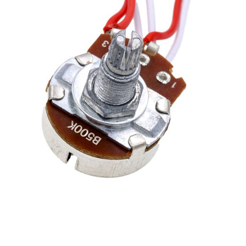Electric Guitar Wiring Kit 1 Volume 1 Tone 3 Toggle Switch