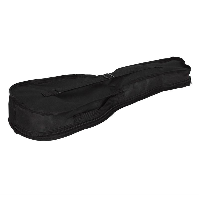 IRIN-Bolsa-ukelele-portatil-negro-Caja-suave-Bolsa-de-monocapa-Mochila-de-hombro miniatura 4