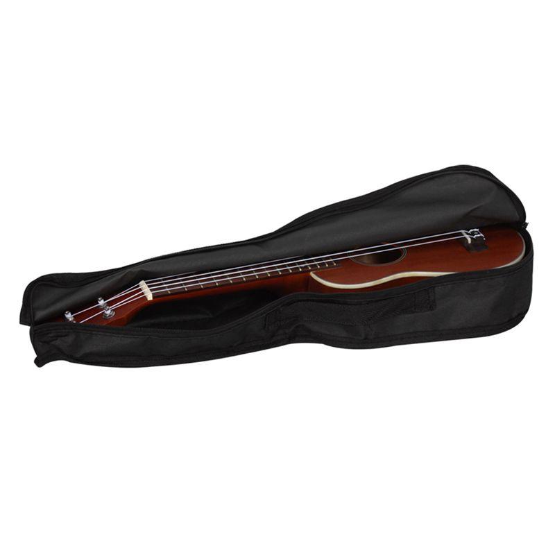 IRIN-Bolsa-ukelele-portatil-negro-Caja-suave-Bolsa-de-monocapa-Mochila-de-hombro miniatura 5