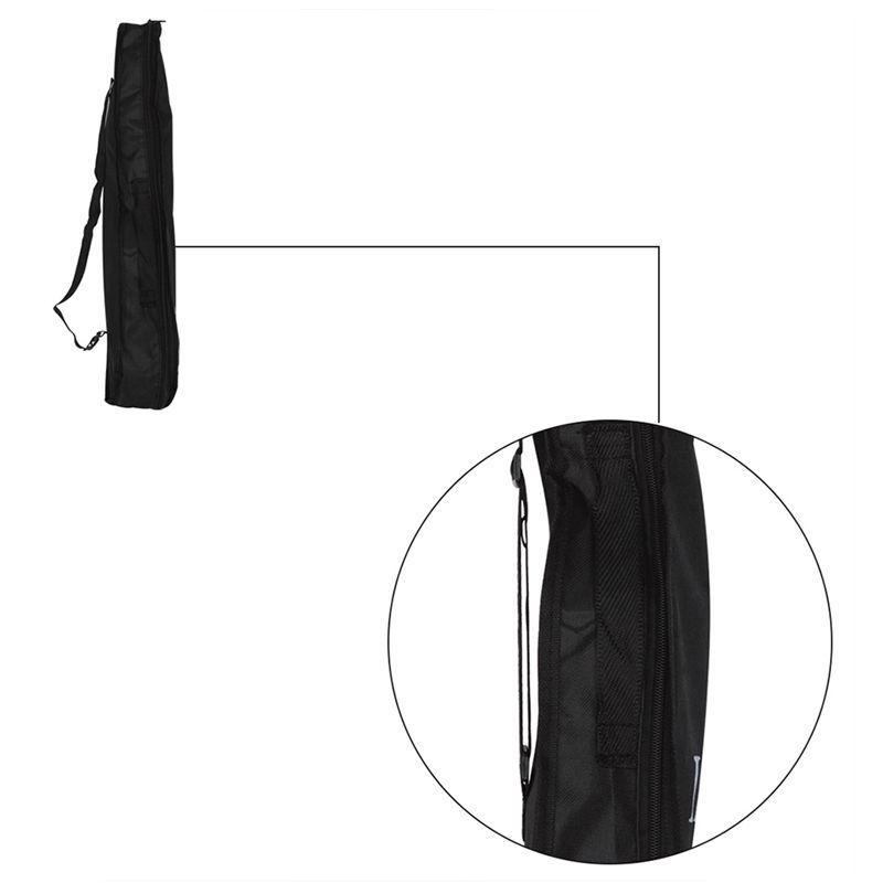 IRIN-Bolsa-ukelele-portatil-negro-Caja-suave-Bolsa-de-monocapa-Mochila-de-hombro miniatura 9