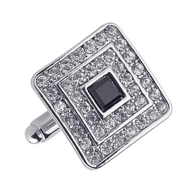 Fashion-Shirt-Cufflinks-Diamonds-Inlaid-Cufflinks-Delicate-Men-039-s-Jewelry-Fo-S2F6 thumbnail 4