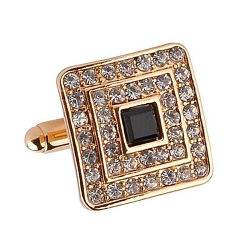 Fashion-Shirt-Cufflinks-Diamonds-Inlaid-Cufflinks-Delicate-Men-039-s-Jewelry-Fo-S2F6 thumbnail 11
