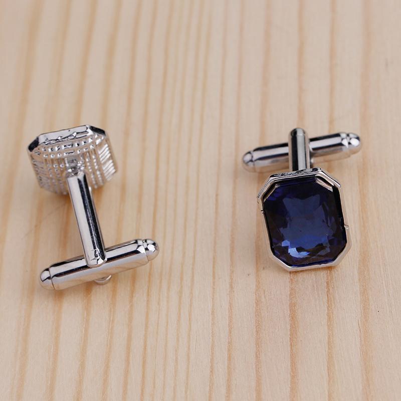 1-Pair-Fashion-Diamond-Colorful-Glass-Cufflinks-Cuff-Links-Womens-Mens-Dres-F1X5 thumbnail 4