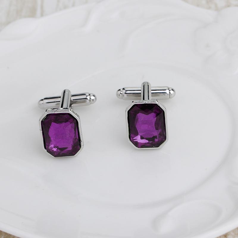 1-Pair-Fashion-Diamond-Colorful-Glass-Cufflinks-Cuff-Links-Womens-Mens-Dres-F1X5 thumbnail 19