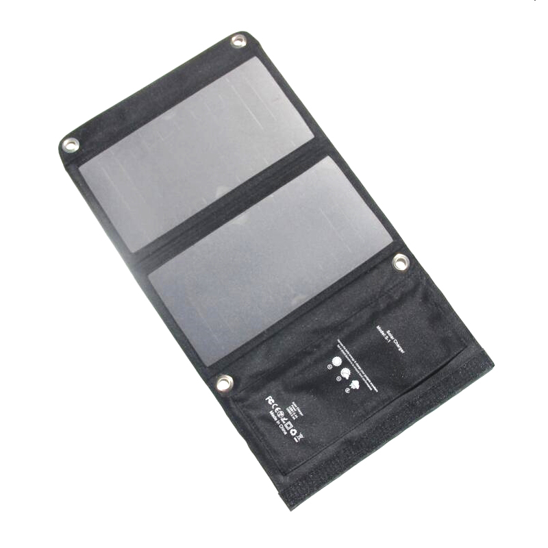 Cargador solar portatil de 15W Paneles solares impermeables de 5V...