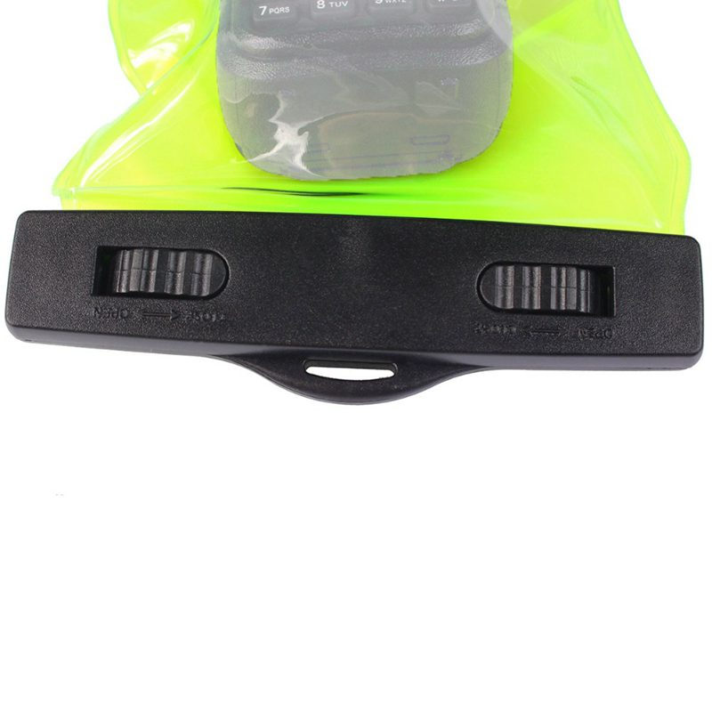 Universal-Waterproof-Sets-Holster-case-holder-for-Walkie-Talkie-Ham-Radio-Hf-S2P thumbnail 6