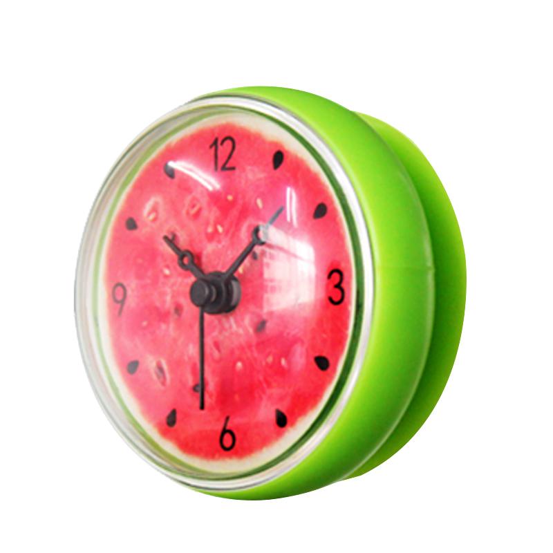 Wanduhr 3D Kreativ Wassermelone Obst Baduhr / WC / Kueche Uhr 8cm ...
