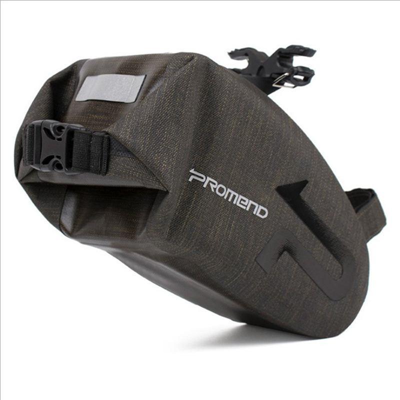 4X promend BIKE BAG CUSCINO POSTERIORE CODA BIKE TOOL POSTERIORE Wrap impermeabile bike BC2Y2