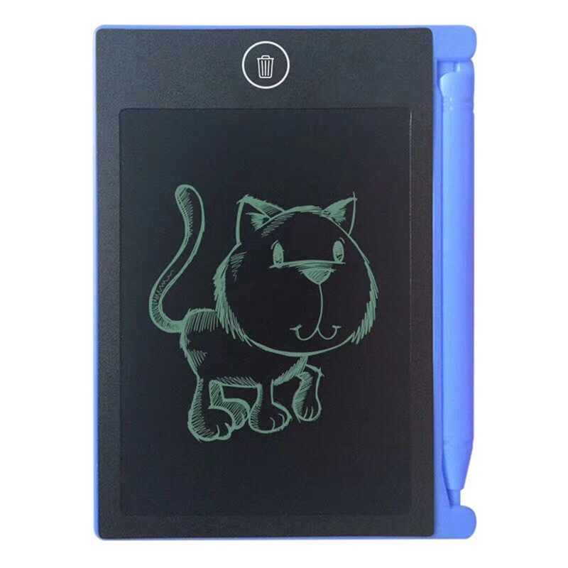 LCD-Writing-Tablet-Paperless-Memo-Pad-Writing-Drawing-Board-4-4-in-Q3X5 thumbnail 3