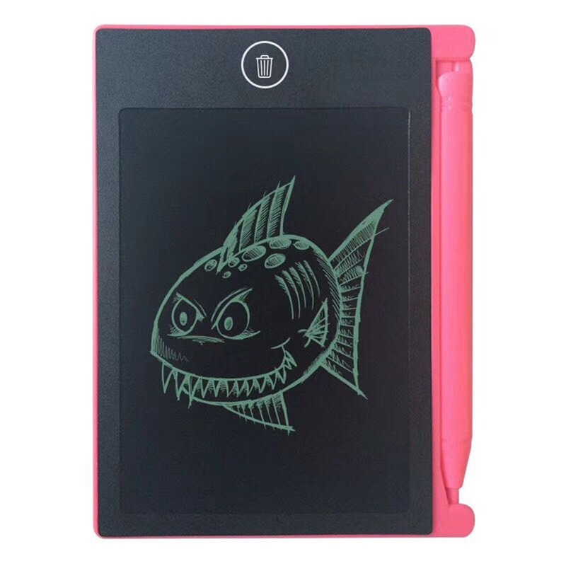 LCD-Writing-Tablet-Paperless-Memo-Pad-Writing-Drawing-Board-4-4-in-Q3X5 thumbnail 9