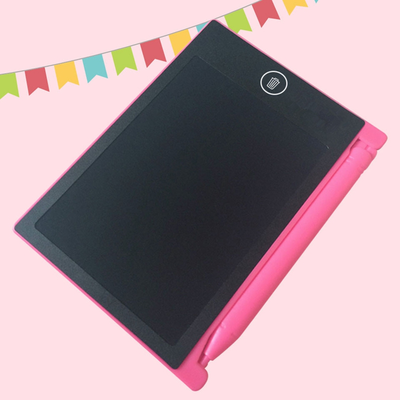 LCD-Writing-Tablet-Paperless-Memo-Pad-Writing-Drawing-Board-4-4-in-Q3X5 thumbnail 13