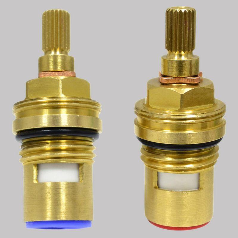 universal replacement brass ceramic disc tap valve insert. Black Bedroom Furniture Sets. Home Design Ideas