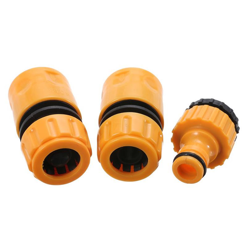 3 Stueck Schnell tippen Wasseranschluss Adapter Schnelle Kupplung Adapter T I3Q1