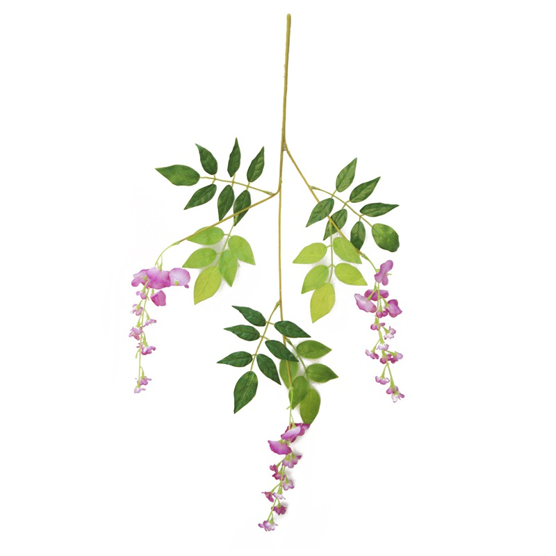 Thumbnail Wedding Tree: Artificial Flower Wisteria Long 75cm Tofu Pudding To