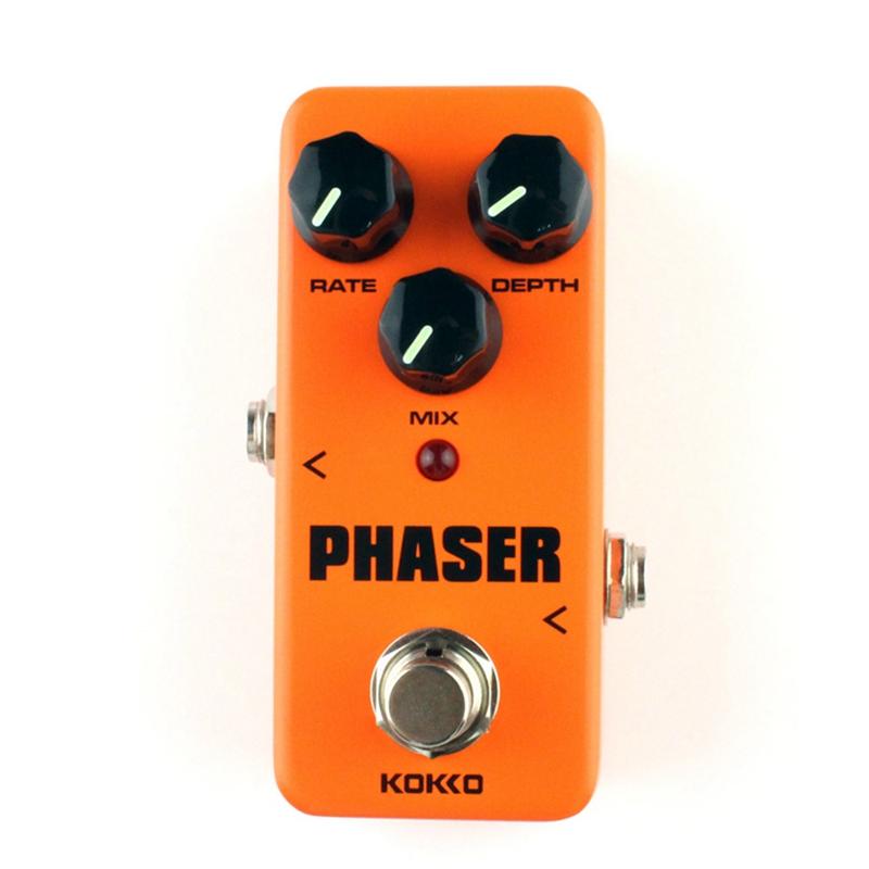 2X(KOKKO Phaser analogico Efectos de guitarra Mini Mini Mini pedal de efectos ControlW4H4)  Envio gratis en todas las ordenes