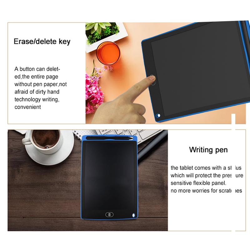 2X-A8-5-pouce-Panneau-d-039-ecriture-LCD-Tablette-d-039-ecriture-LCD-sans-papier-De-J6A9 miniature 14