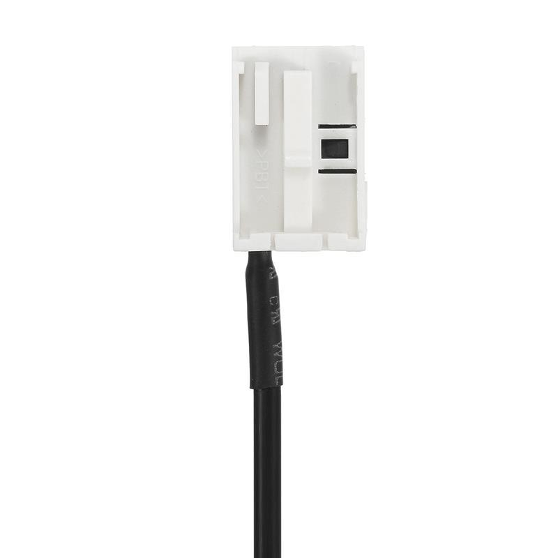 Nuevo-kit-de-entrada-de-audio-AUX-negro-hembra-de-3-5-mm-y-12-PIN-Cable-J5K1 miniatura 3