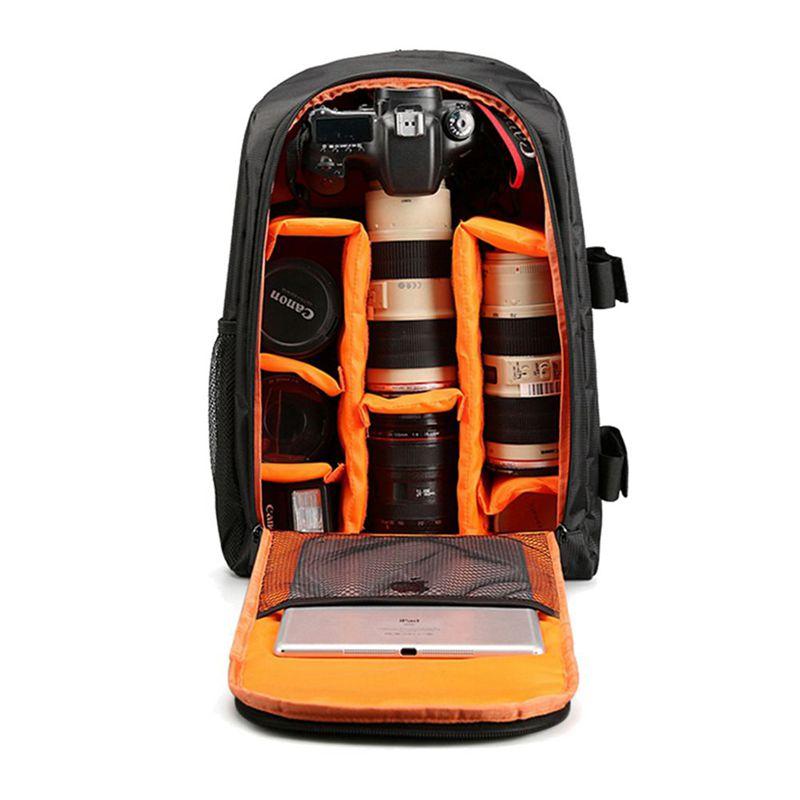 Multifuncional impermeable camara mochila portatil video caja DSLR bolso d 5O 1X