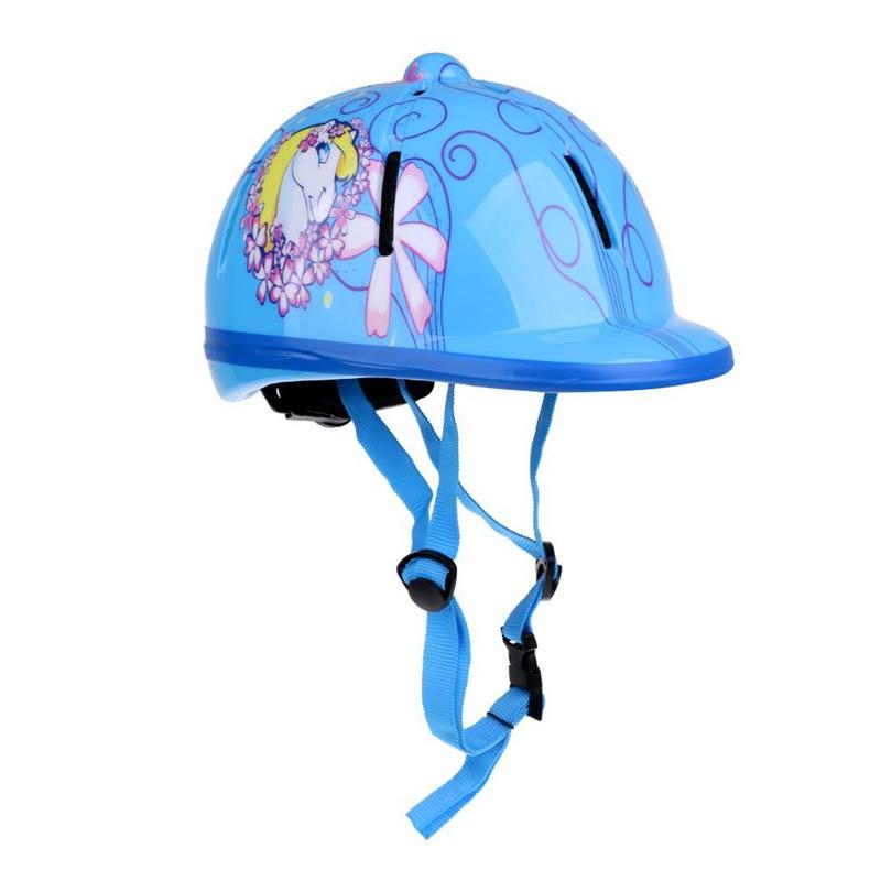 Kinder-Kinder-Einstellbare-Reit-Hut-Helm-Kopf-Schutzausruestung-C2C4 thumbnail 4