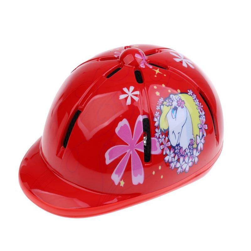 Kinder-Kinder-Einstellbare-Reit-Hut-Helm-Kopf-Schutzausruestung-C2C4 thumbnail 20