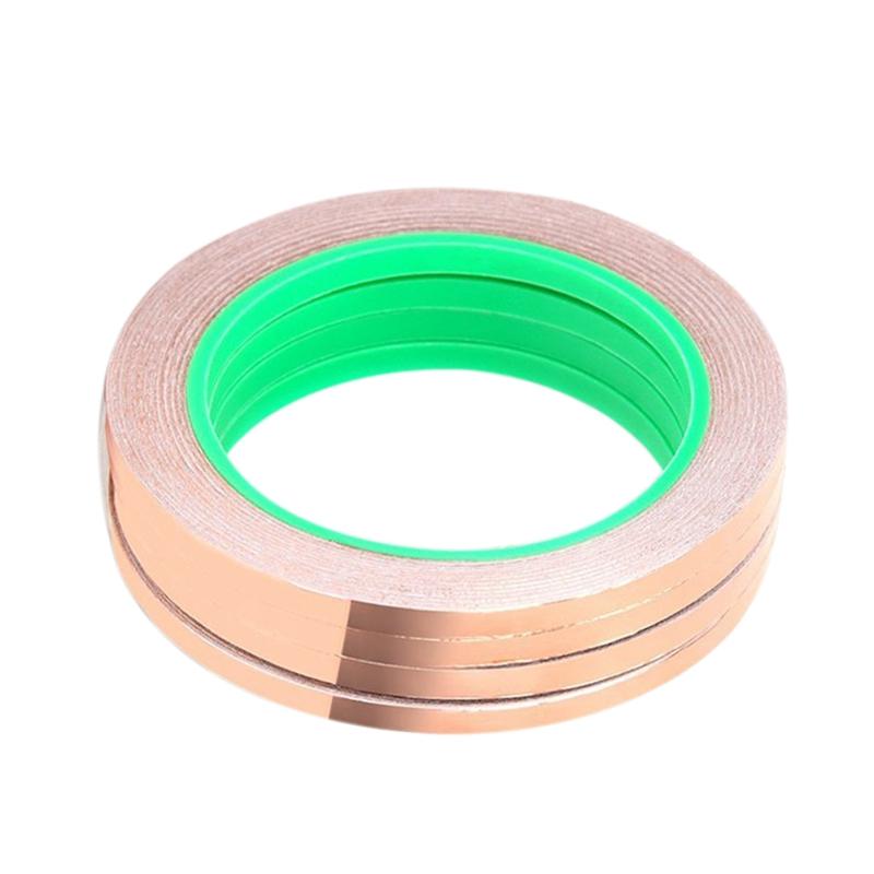 Charitable 4 Paquet Bande De Feuille De Cuivre Avec Adhesif Conducteur Pour La Protect O8p0 Ferme En Structure