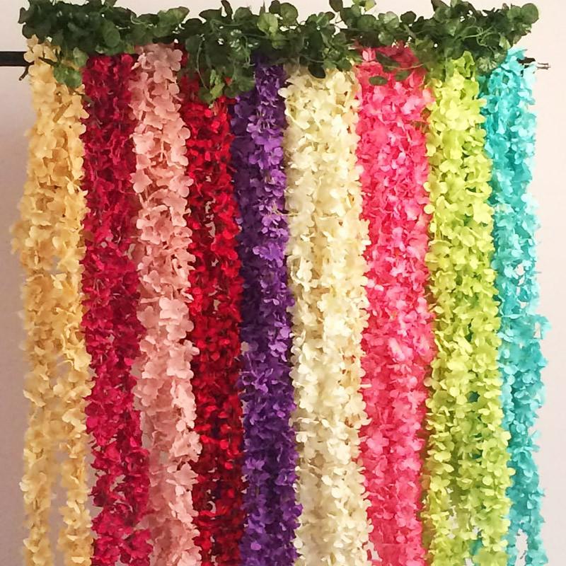 2M-Home-Fashion-Kuenstliche-Hortensie-Party-Romantisch-Hochzeits-dekorative-A2Z2 Indexbild 6