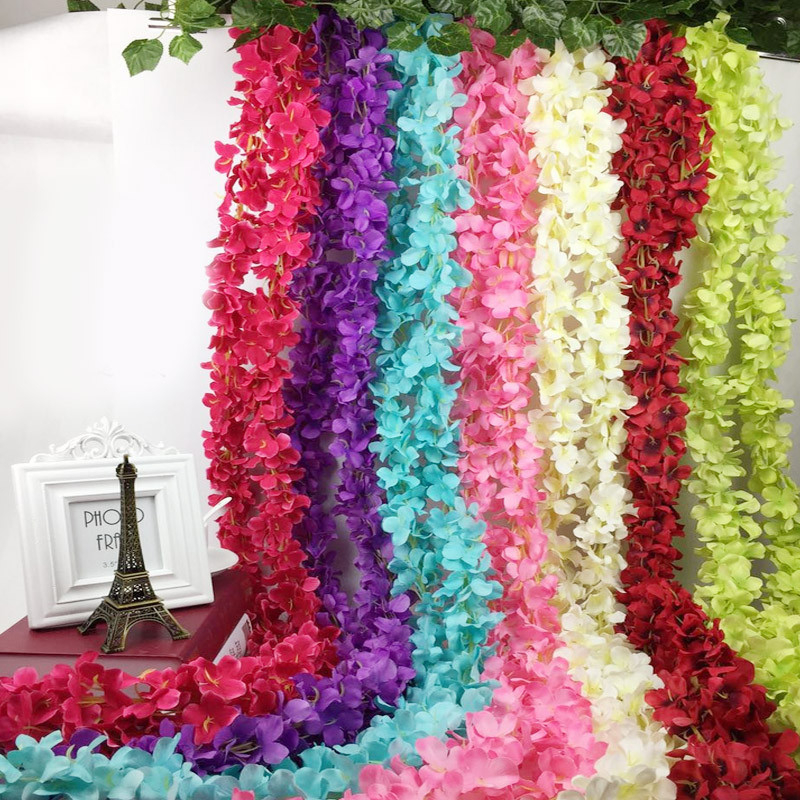 2M-Home-Fashion-Kuenstliche-Hortensie-Party-Romantisch-Hochzeits-dekorative-A2Z2 Indexbild 13