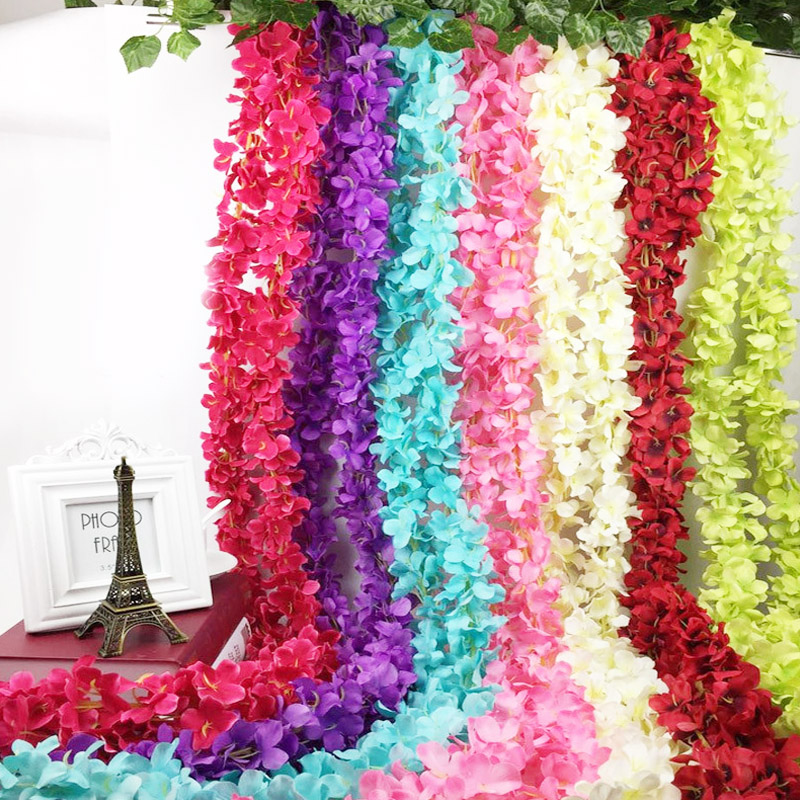 2M-Home-Fashion-Kuenstliche-Hortensie-Party-Romantisch-Hochzeits-dekorative-A2Z2 Indexbild 27