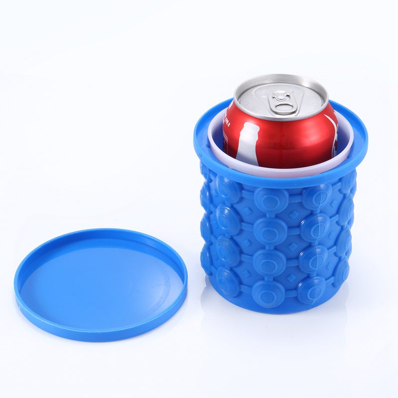 1X-Silicone-seau-a-glace-glace-glacee-genie-glace-gel-de-silice-baril-machi-M9G1 miniature 2