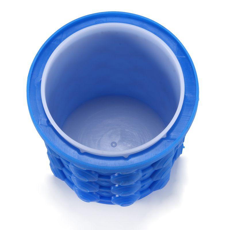 1X-Silicone-seau-a-glace-glace-glacee-genie-glace-gel-de-silice-baril-machi-M9G1 miniature 4