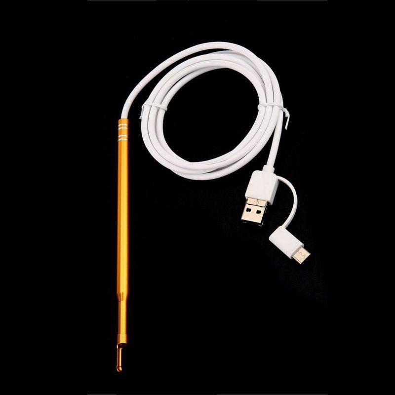 6X(HD 1 mega pixel outil de nettoyage de l'oreille l'oreille l'oreille otoscope numerique nettoye I7 481614