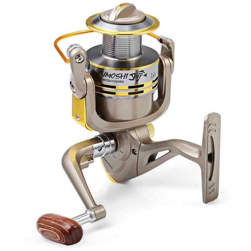 YUMOSHI-8-BB-poisson-ratio-5-1-1-Spinning-Moulinet-De-Peche-Manivelle-Poign-5X1 miniature 3