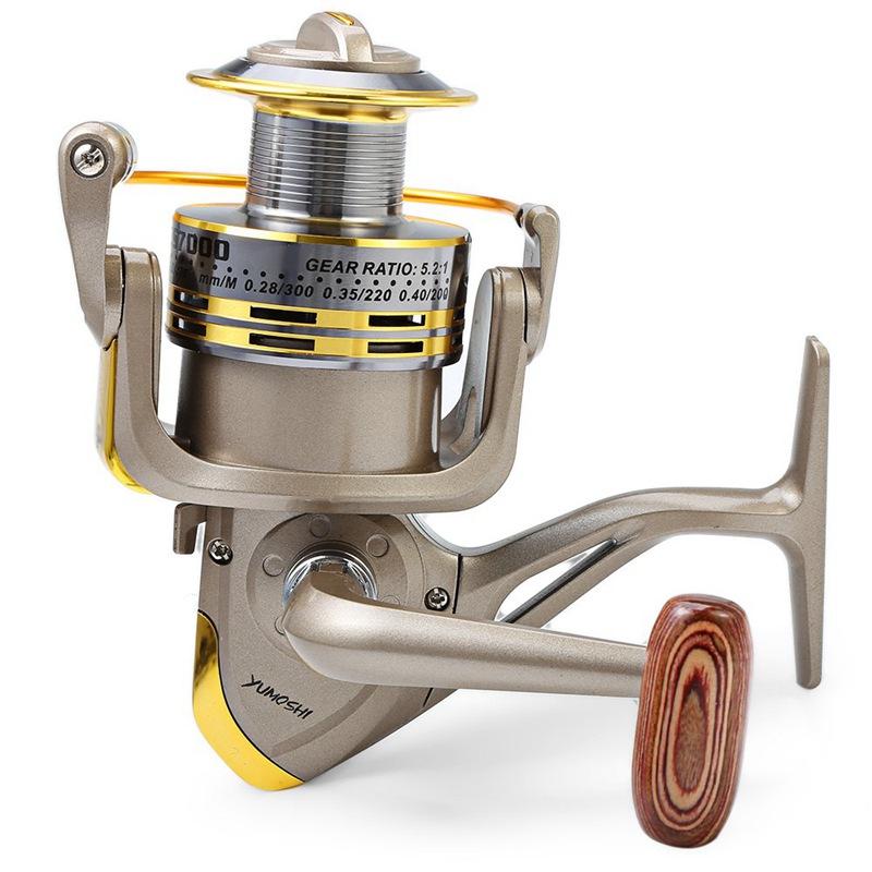 YUMOSHI-8-BB-poisson-ratio-5-1-1-Spinning-Moulinet-De-Peche-Manivelle-Poign-5X1 miniature 4