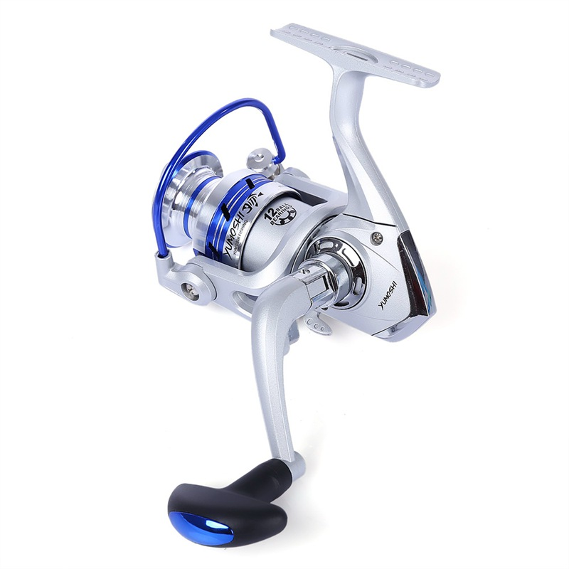 1X-YUMOSHI-12BB-Gear-Ratio-5-5-1-Half-Fishing-Windlass-Reel-Machined-with-P7K0