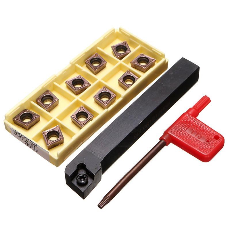 5X(SCLCR1212H09 Coupeur d'outil de tour de support avec 10pcs 10pcs 10pcs CCMT09T304-PM l UX 24eeda