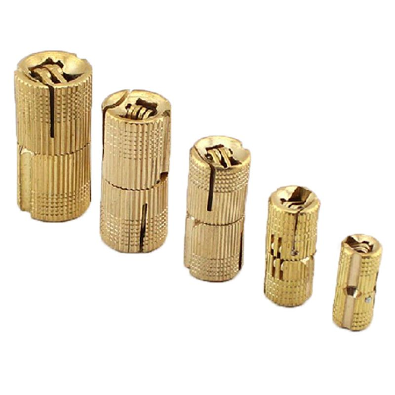 1X 4 PCS 10 mm charniere en cuivre charnieres armoire cachee cylindrique di S7A3
